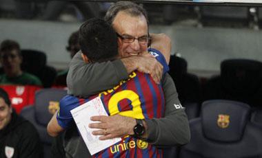 Marcelo Bielsa y Alexis Sánchez hoy serán rivales. El Barcelona y Bilbao definen al campeón de la Copa del Rey.