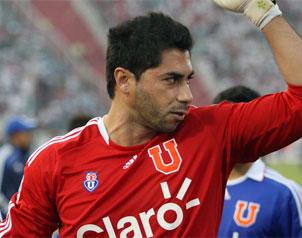 "Herrera fue la gran figura en el triunfo de la ""U"". El meta anotó el gol de la victoria."