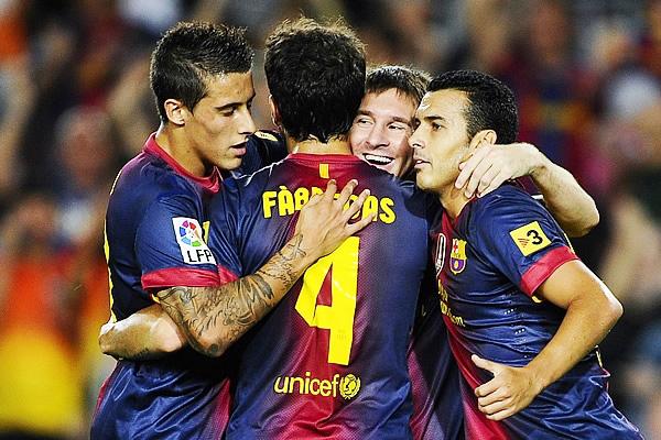 Barcelona lo dio vuelta y terminó celebrando ante el Atlético.