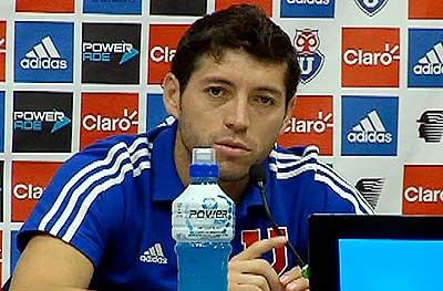 José Rojas aseguró que no le tienen miedo a Colo Colo y que el domingo tienen el objetivo de ganar en el Monumental.