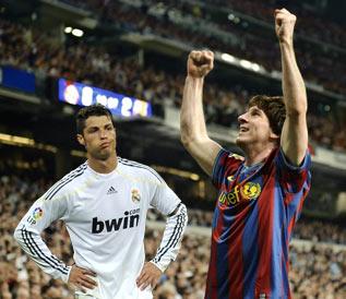 Lio Messi asegura que no tiene en mente competir con Ronaldo.