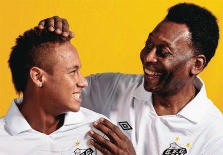 """Neymar anotó el primer gol contra la """"U""""."""
