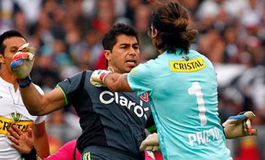 Johnny Herrera se fue con todo en contra de Prieto al que calificó del arquero más malo del fútbol chileno.