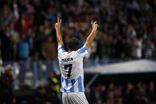 Joaquín anotó el gol del triunfo, pero también se perdió un penal.