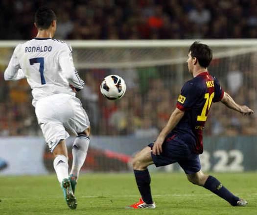 Messi y Ronaldo se robaron el espectáculo en un nuevo Superclásico español
