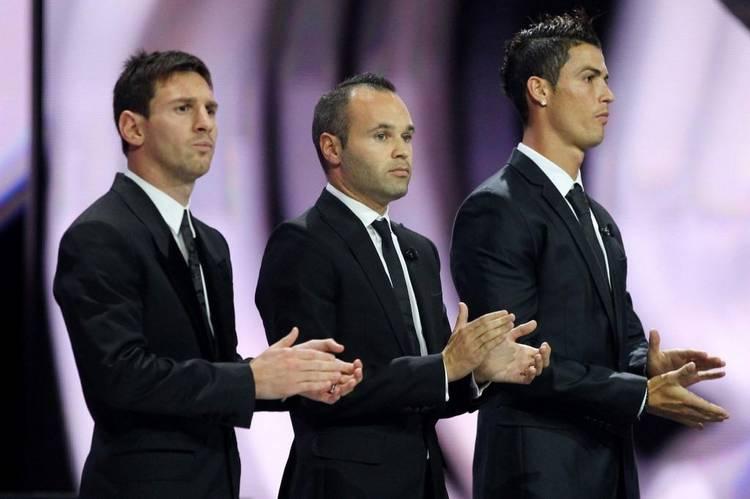 Se repite la historia: Messi, Iniesta y Cristiano son candidatos.