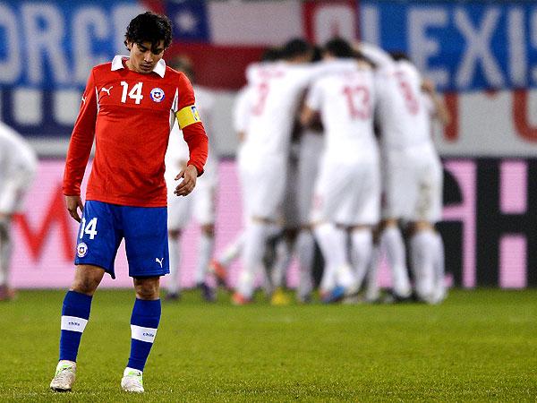 La Roja continúa cayendo en el Ranking FIFA.