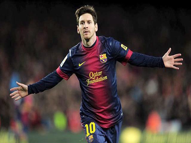 Messi es por cuarta vez consecutiva el mejor.