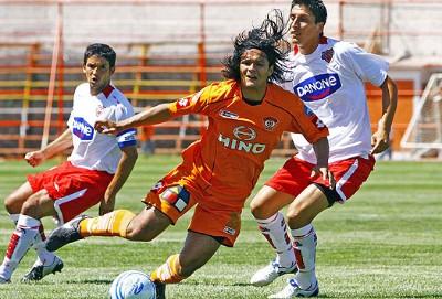 El paraguayo anotó 14 goles en Calama.