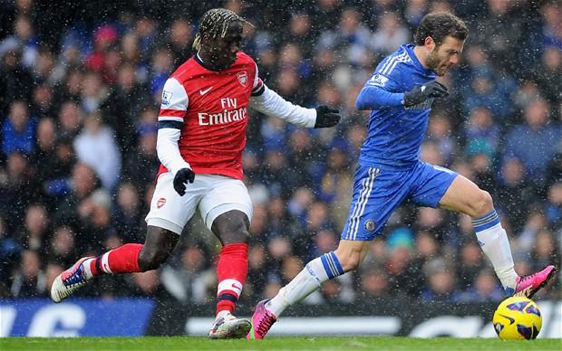 Juan Mata fue la figura del Chelsea ante el Arsenal.
