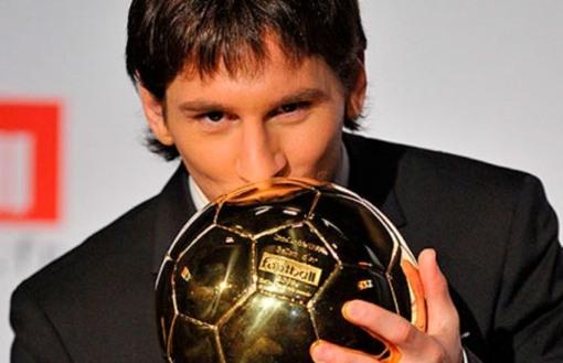 Messi Balón de Ooro