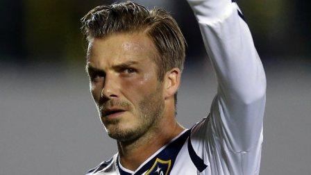 Beckham jugará hasta fin de la temporada en el PSG.