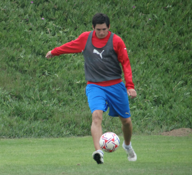 """Los """"Cruzados"""" realizaron su primer trabajo futbolístico de cara al 2013."""