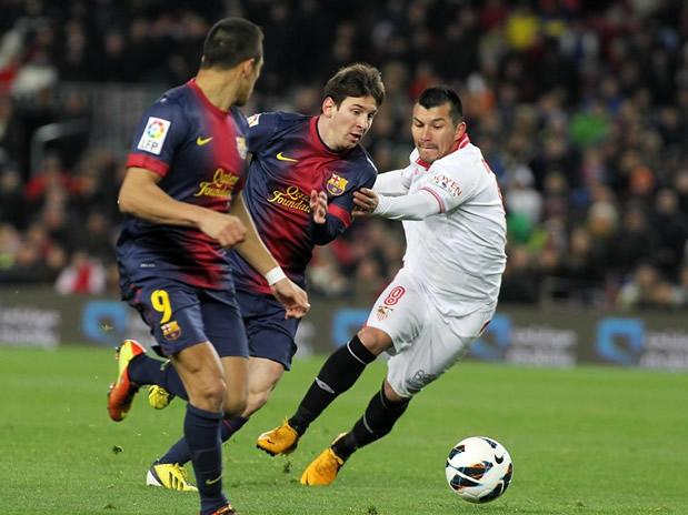 Barcelona se le dio vuelta al Sevilla