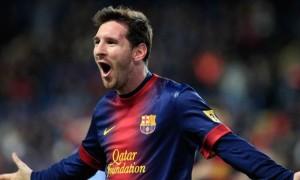 Messi anotó tres en el gran clásico de España. Barcelona recuperó la vida en la Liga.