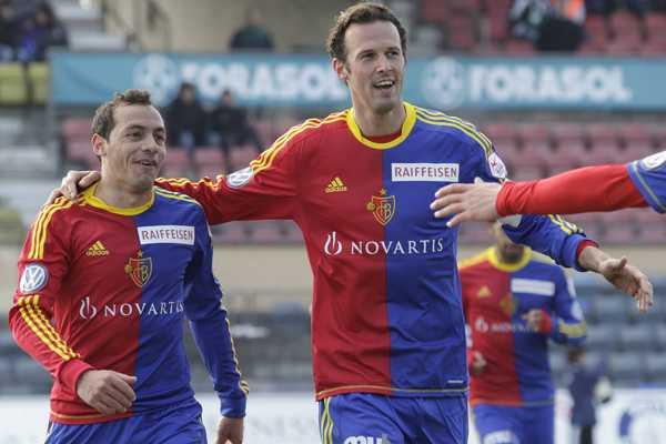 Marcelo Díaz anotó un gol en triunfod el Basilea.