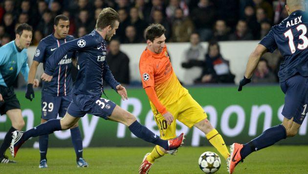 Barcelona y PSG empataron 2 a 2 en París. Todo quedó abierto para la revancha.