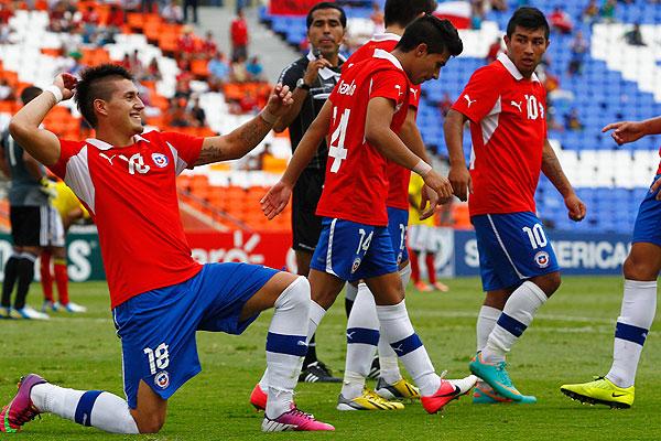 Chile comenzó con el pie derecho su participación en el Mundial.