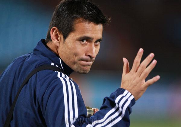 Justo Villar ya está en el país para sumarse a Colo Colo.