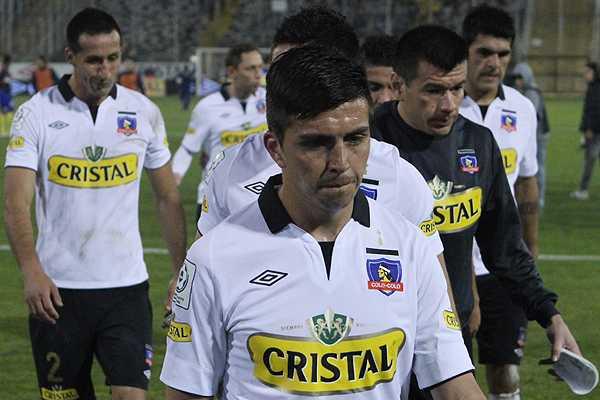 Colo Colo, en la derrota ante Deportivo Pasto en Colombia