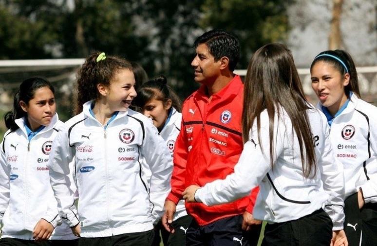 """La """"Roja"""" femenina Sub 17 debutará ante Argentina."""