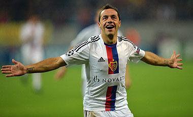 El chileno marcó el único gol del Basilea en ese juego