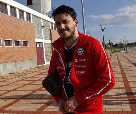 """El ex delantero de Universidad de Chile está feliz por volver a la """"Roja""""."""