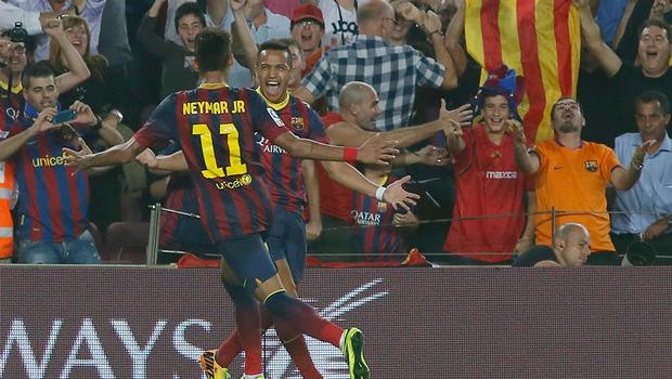 """El 9 del Barça se consolida en el esquema del """"Tata"""""""