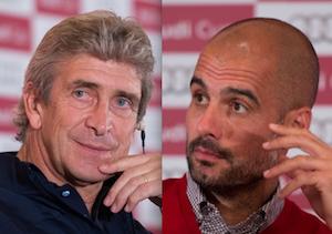 ¿Pellegrini logrará ganarle a Guardiola?