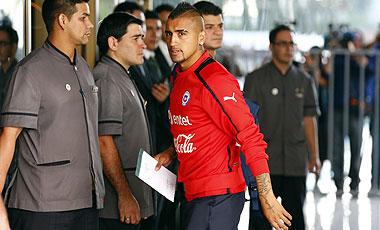 Arturo Vidal quedó en libertad de acción para volver a Italia.