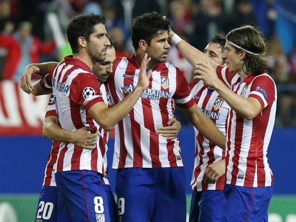 """Los """"Colchoneros"""" están segundos en la Liga BBVA y primeros en su grupo de Champions League."""