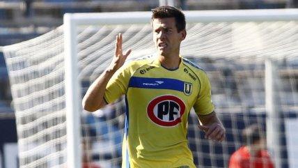 Diego Ruiz fue una de las figuras al anotar dos goles en el triunfo ante Colo Colo.