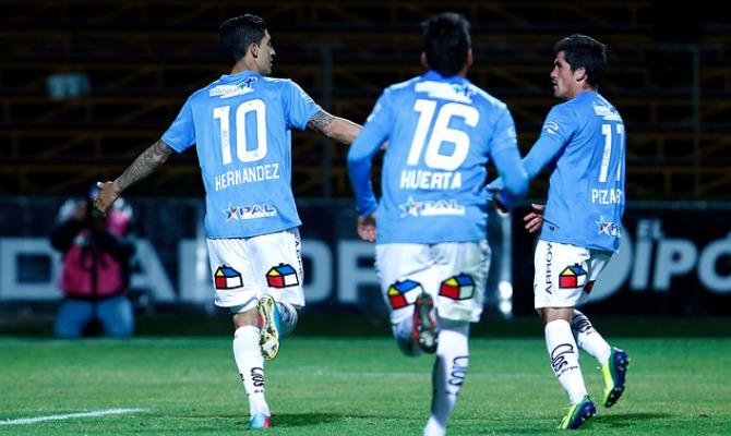 Pablo hernández anotó el gol del triunfo que le permite a O'Higgins meterle presión a la UC.