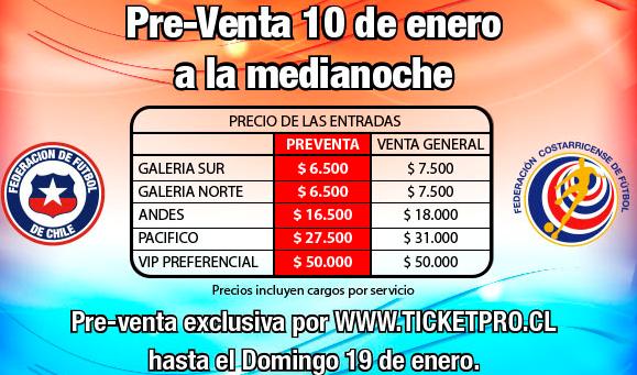 """Desde $6.500 gastarán los hinchas chilenos para ver a la """"Roja"""" en la IV región."""