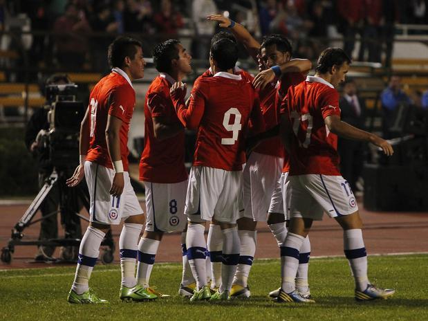 Chile derrotó por 2-1 a Senegal en el último partido que disputó en la IV región.