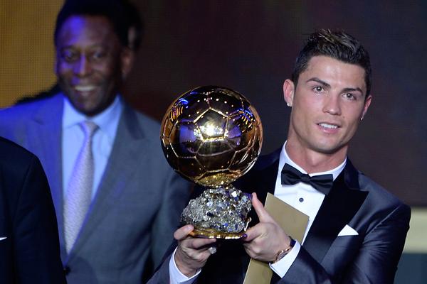 Ronaldo fue premiado gracias al 27,99% de los votos.