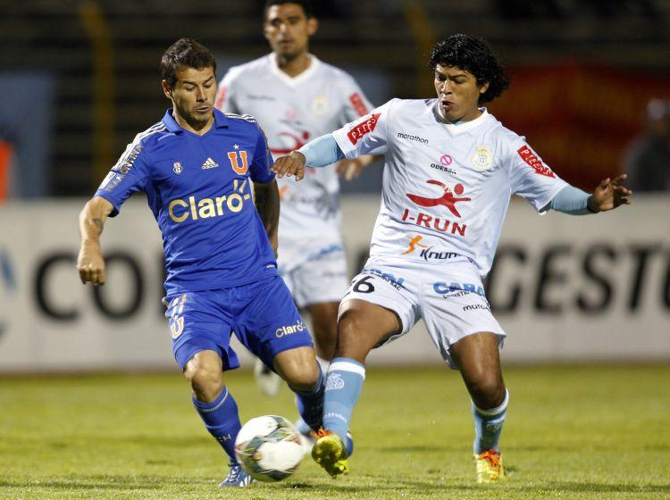 """La """"U"""" tiene la obligación de ganar esta tarde al Garcilaso de Perú si quiere clasificar a la siguiente ronda de la Libertadores."""