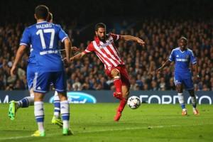 "El ""10"" colchonero sentenció la clasificación del Atleti a la final de la UEFA Champions League."