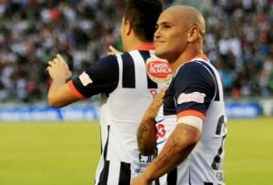 """Así celebro el """"Chupete la victoria ante el Veracruz."""