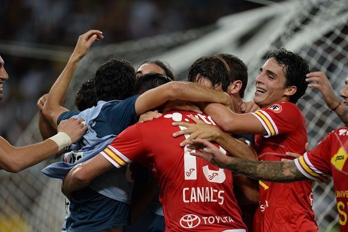 Unión hizo historia en el Maracaná. Le ganó a Botafogo y clasificó a la siguiente ronda de la Libertadores.