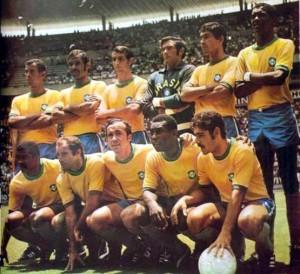 La selección de 1970 es considerada una de las mejores de la historia. Pelé la encabezó.
