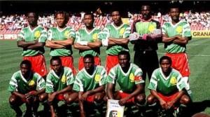El equipo que logró la mejor participación de Camerún en un Mundial.