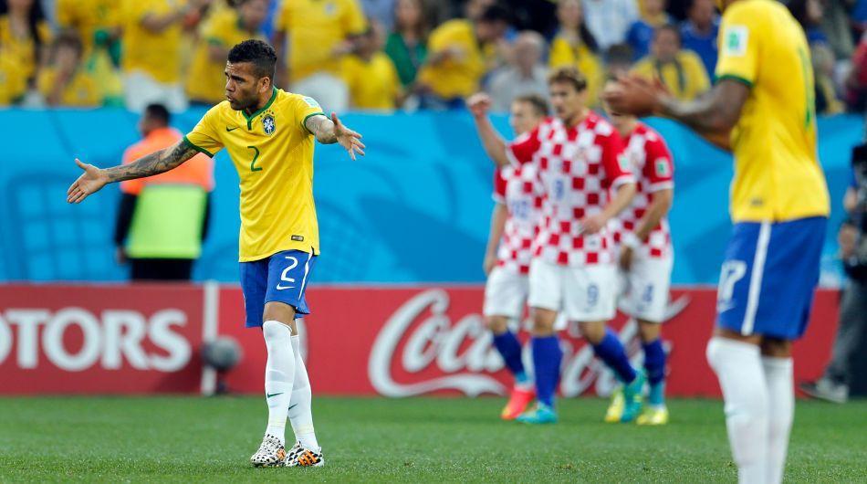 Neymar fue figura y anotó dos goles en el triunfo de Brasil ante Croacia.