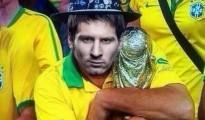 Messi con la Copa