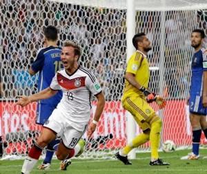 Mario Götze apareció en el momento indicado para romper la ilusión argentina.