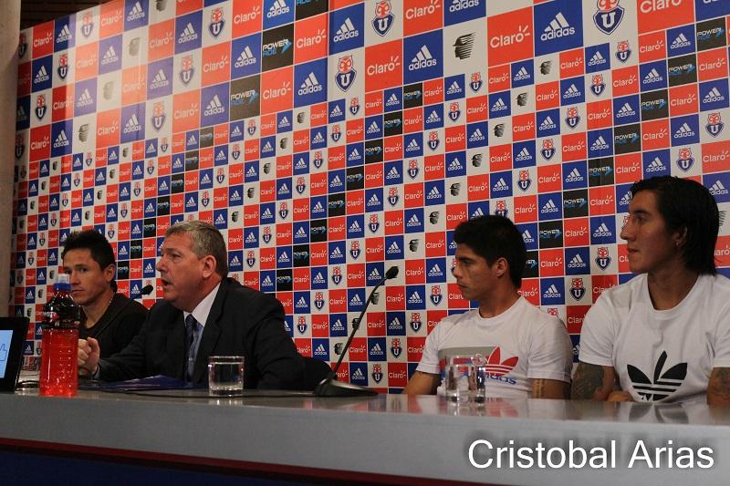 Presentación de Gustavo Canales, Bengamin Vidal  y Cristian Suarez