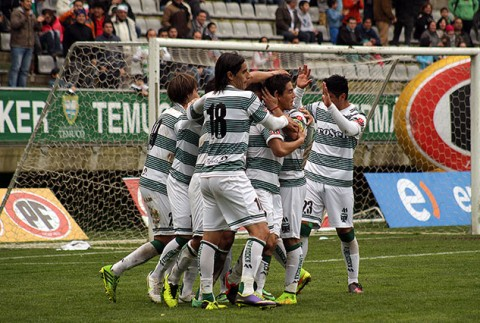 Temuco ganó 3-1 de visita a Lota Schwager.