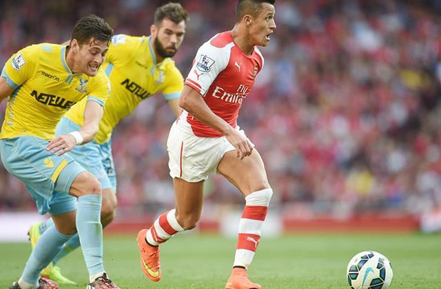 Alexis Sánchez jugó 73`minutos en la definición por un cupo en la UEFA Champions League, entre Besiktas y Arsenal.