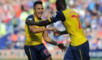 Alexis fue figura ante Anderlecht.