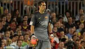 Claudio Bravo sigue con su arco invicto en la Liga de España.